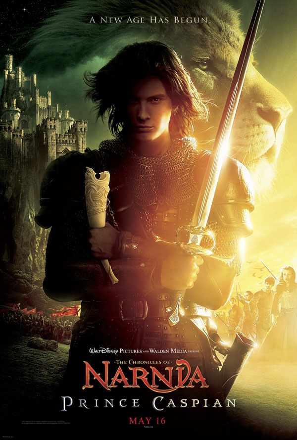 Prince Caspian movie poster