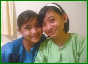 Nani & Fathiah during Hari Raya Eid 07
