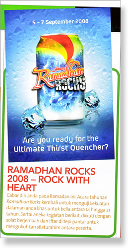 Ramadhan Rocks on Manja September issue